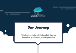 Living Things Journey Infographic