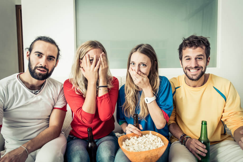 Enjoy a cinema experience in the comfort of your home