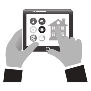 using smartphone to operate smart home