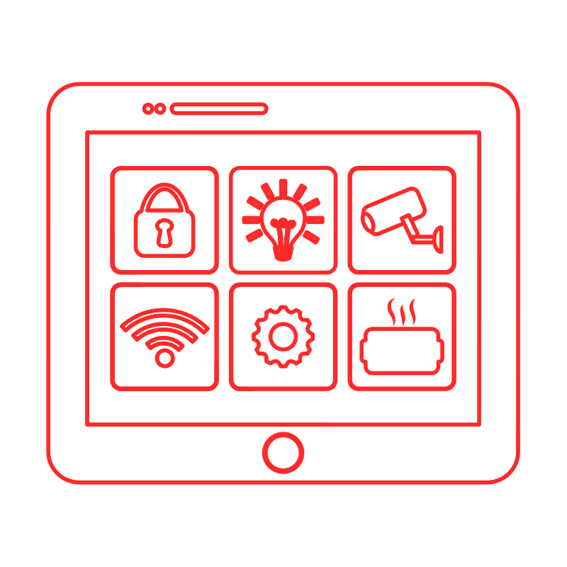 security with smart home